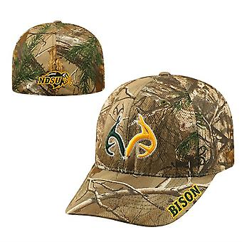 North Dakota Stat Bison NCAA TOW Real Tree Camo Memory Fit Hat