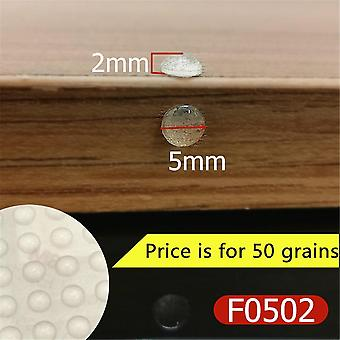 Cabinet Self Adhesive Stop Door Bumper Door Stopper Silicon Rubber Damper Kitchen Buffer Pad Furniture Bumper Hardware