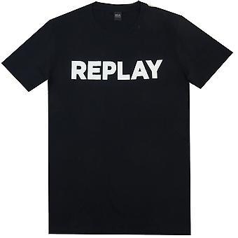 Replay T-skjorter Replay Big Logo Tee