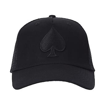 Ace Vestiti Ace Trucker Cap - All Black