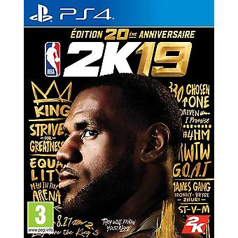 NBA 2K19 20th Anniversary Edition PS4 Game