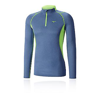 Mizuno Wool Half Zip Merino Running Top