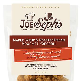 Maple Syrup & Roasted Pecan Popcorn