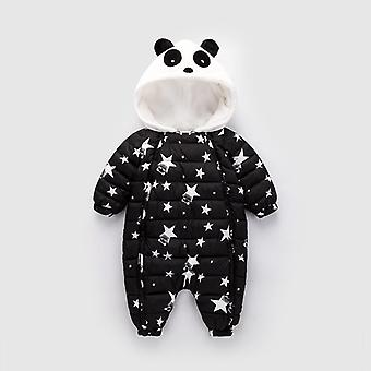 Baby Rompers, Winter Panda Shape, Tuta Body Abbigliamento