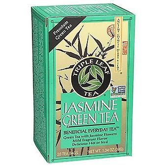 Triple Leaf Tea Jasmine Green Tea, 20 Bags