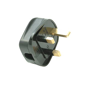 SMJ Black Plug 13A Fused (Trade Pack of 20) SMJTB13FP
