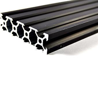500mm Black Aluminium V Extrusion 2080