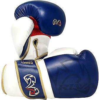 Rival Boxing RS80V Impulssikoukku ja silmukan sparraushanskat - Laivasto