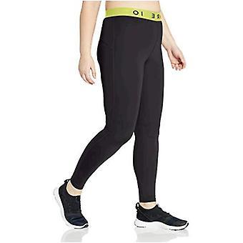 Brand - Core 10 Women's Standard Lightweight Compression Full-Length Legging, Olive, Medium