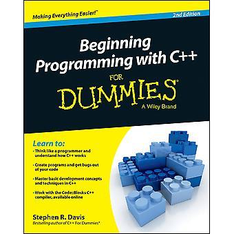 Début de la programmation avec C++ pour les nuls