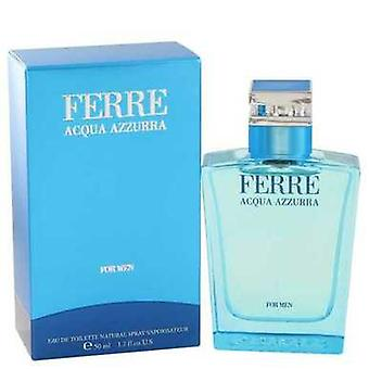 Ferre Acqua Azzurra By Gianfranco Ferre Eau De Toilette Spray 1.7 Oz (men) V728-467833