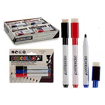 filtpenne 3 boardet penne (3 stykker)