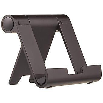 Amazonbasics suport portabil multi-unghi pentru tablete, e-cititori și telefoane - negru