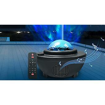 Barevné Hvězdné Sky Galaxy Hvězdná noční lampa s reproduktorem Bluetooth