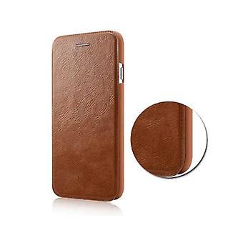 mote lommebok PU skinn ultra slank tilfelle dekke beskyttende skall for iPhone 6 pluss