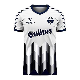 Quilmes 2020-2021 Home Concept Football Kit (Viper)