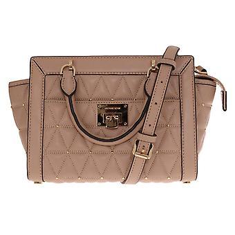 Michael Kors Multicolor VIVIANNE Patent Messenger Bag