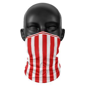 Stoke City FC Colours Snood Face Mask Scarf Football Club Buff Headwear Tube