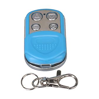 433 MHz Blue Waterproof Mini Garage Door Opener Remote Control Parts