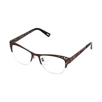 Naisten silmälasikehys Loewe VLW444M510A57 Ruskea (ø 51 mm)