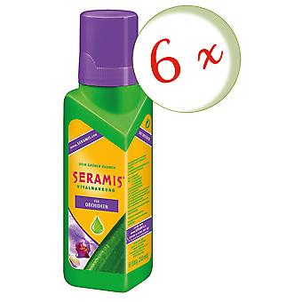 Sparset: 6 x SERAMIS® vital food for orchids, 200 ml