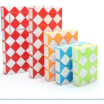 Snake Design Twisted Cube vervorming Ruler, Kids puzzel educatieve speelgoed