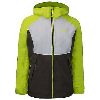 Jack Wolfskin Womens Mount Isa 3 i 1 Jacka Hooded Coat Fleece 1113631 4122