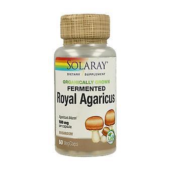 Fermented Royal Agaricus 60 vegetable capsules of 500mg