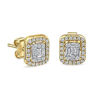 Korvakorut Arwen 18K kulta ja timantit
