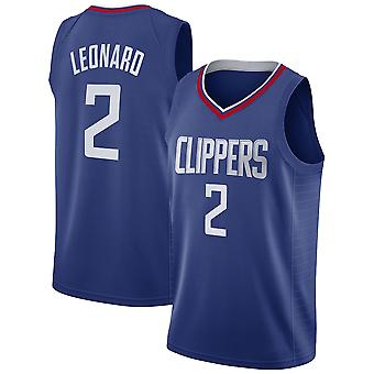 Los Angeles Clippers Kawhi Leonard Loose Basketball Jersey Sportshirts 3QY027