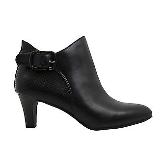 Alfani Womens Valmontt Leather Almond Toe Ankle Fashion Boots
