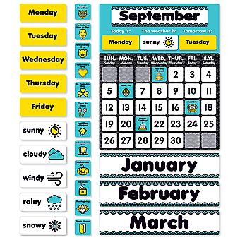 Aqua Oasis: Calendar Bulletin Board