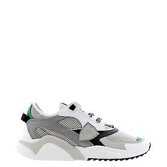 Philippe Model Ezluwt01re Men's Grey Leather Sneakers