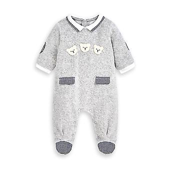 Mayoral baby boys grey babygrow 2767