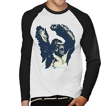 King Kong Arms Up Rage Men's Baseball Långärmad T-shirt
