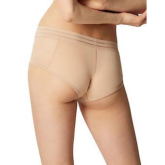 Maison Lejaby 171269-389 mujeres Nufit Power Skin beige Sheer Knicker shorties boyshort