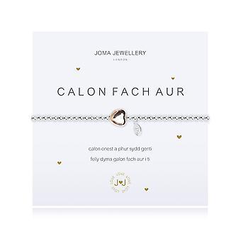 Joma Jewellery A Little Heart Of Gold Welsh Bracelet 876