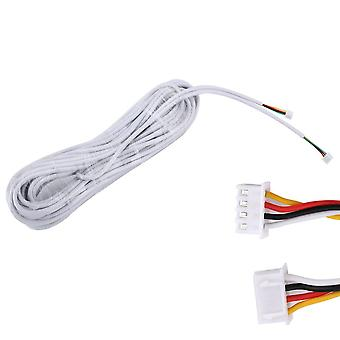 15m 2.54*4p 4 Wire Cable For Video Intercom Color Video Door