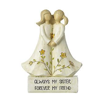 Ángel hermana decoración por el cielo envía