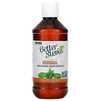 Now Foods, Better Stevia, Édulcorant liquide zéro calorie, Original, 8 fl oz (237 ml)