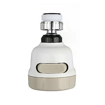 360 degrés rotatable spray tête robinet durable robinet filtre buse 3 modes
