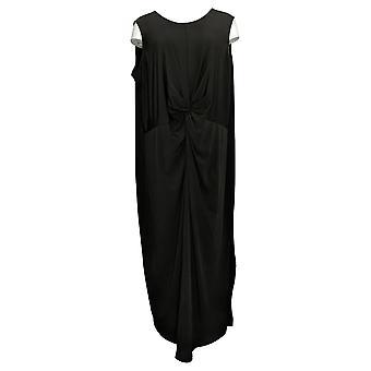 BROOKE SHIELDS Timeless 3X Petite Sleeveless Maxi Dress W/ Twist A349676