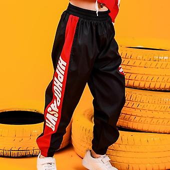 Children Hip Hop Clothing Cropped Hoodie Sweatshirt Shirt Tops Casual Pants