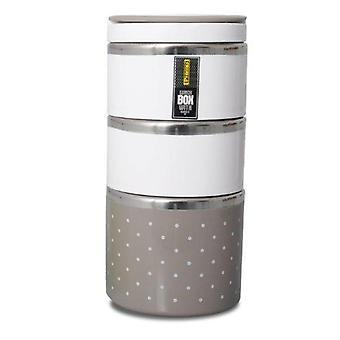 Matbehållare PROMIS TM123 beige C