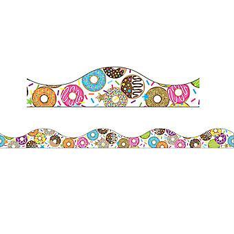 Magnetic Scallop Border Donutfetti, 12'