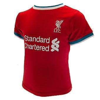 Liverpool FC Vauvan T-paita & Shortsit Setti