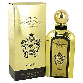 Armaf Derby Club House Gold Eau De Parfum Spray By Armaf 3.4 oz Eau De Parfum Spray