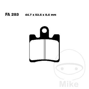 EBC SFA (HH) - Scooter bremseklodser (SFA283/4HH)