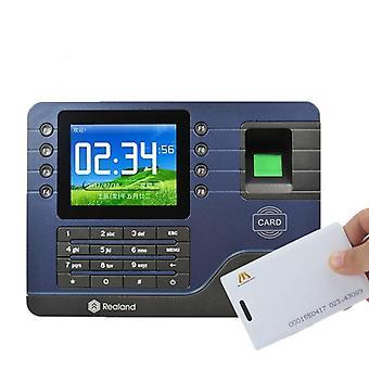 Realand Tcp/ip Biometric Fingerprint Time Attendance Machine