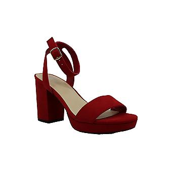 Bar III Womens Cabey Fabric Open Toe Casual Ankle Strap Sandals